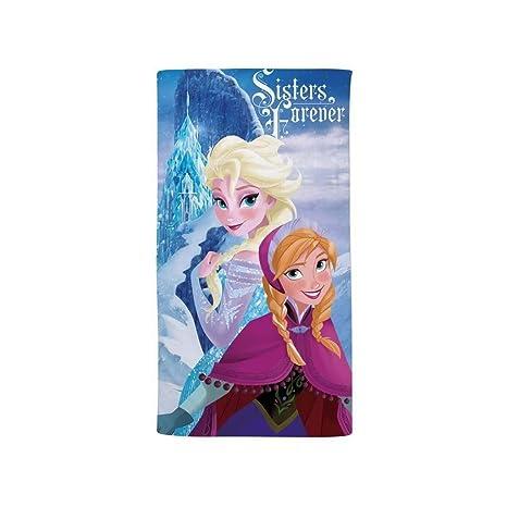 Frozen sister, toalla de playa 75 x 150 cm Caleffi