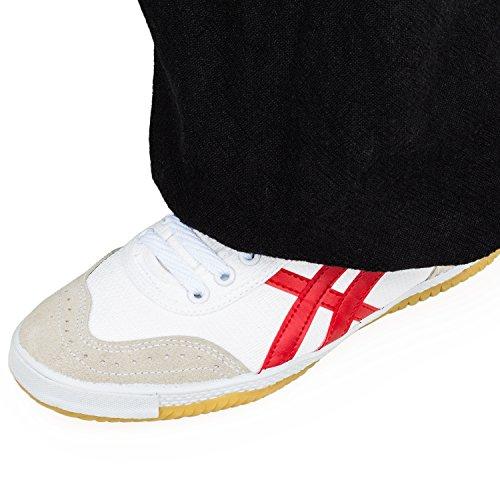 WARRIOR Low Cut Sneaker - Kampfkunst - Kung Fu - Wushu - Sport & Parkour - Freizeit - Minimal Schuhe Türkis