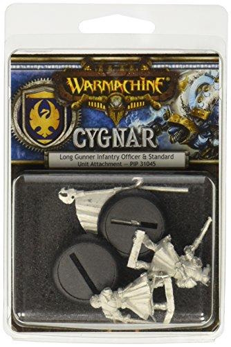 Privateer Press Warmachine: Cygnar Long Gunner Unit Attachment Model Kit (Cygnar Unit)