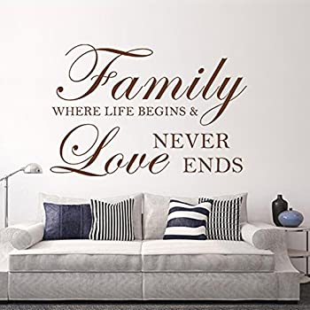 Download Amazon.com : Family where life begins and love never ends ...