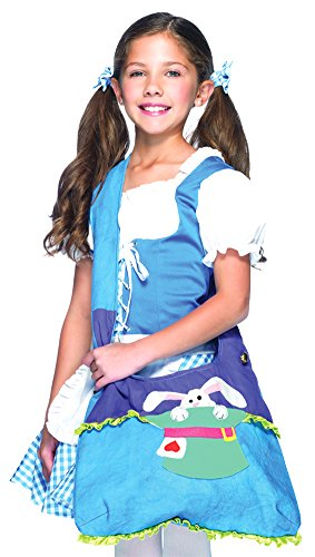 Girls - Kids-Bag White Rabbit Halloween Costume - None