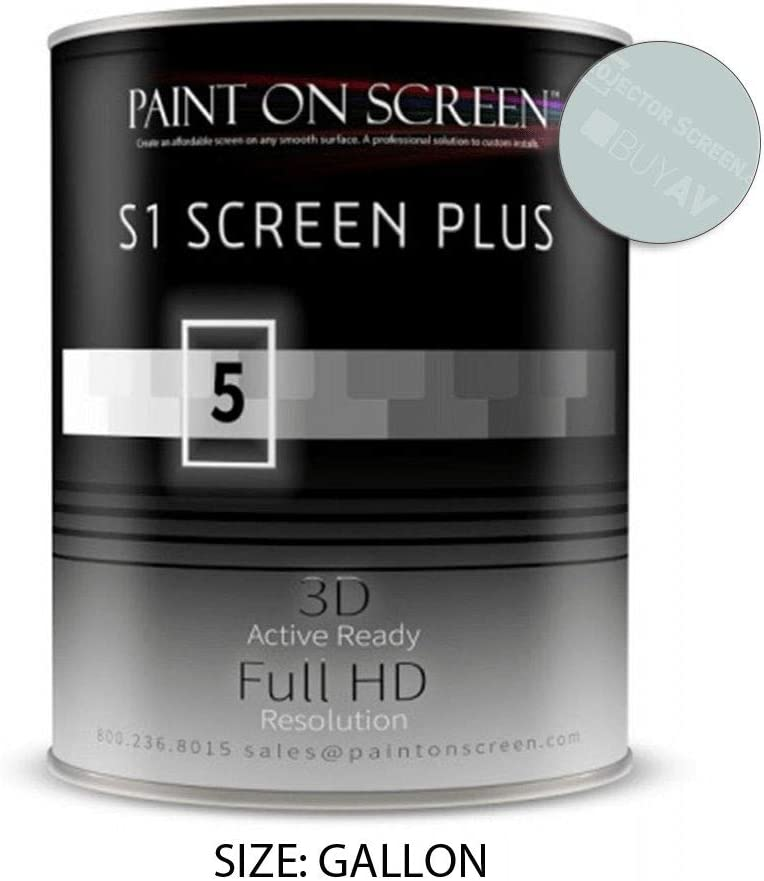 Proyector Pantalla Pintura (S1 Protector de Pintura Plata) – hogar ...