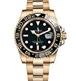 Rolex GMT-Master II Yellow Gold Watch Black Dial Box/Papers 116718LN Unworn 2016