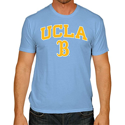 Campus Colors Ucla Bruins Arch   Logo Gameday Softstyle T Shirt   Light Blue  Small