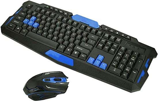 Estilo minimalista practico 2.4 GHz Wireless Gaming Keyboard ...