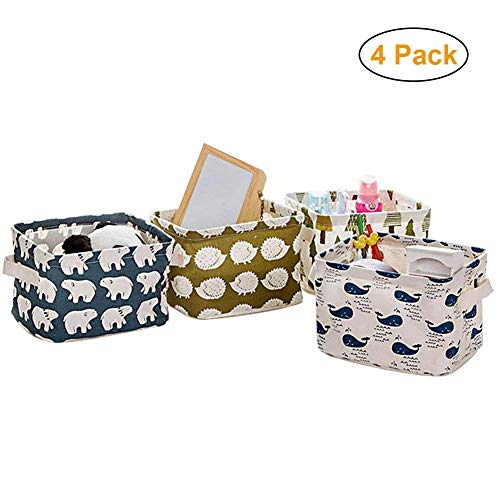 Home Decor Canvas Storage Bins Basket Organizers for