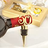 Golden - 50 wine bottle stoppers - 72 count