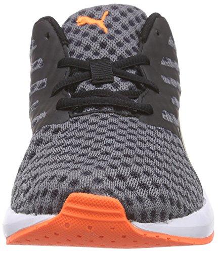 Puma Flare Wn's, Zapatillas para Mujer Negro (black/white/fluo peach)