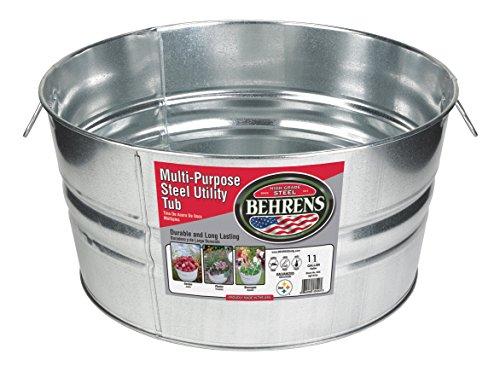 Behrens 1GS 11 Gallon Round Galvanized Steel Tub ()