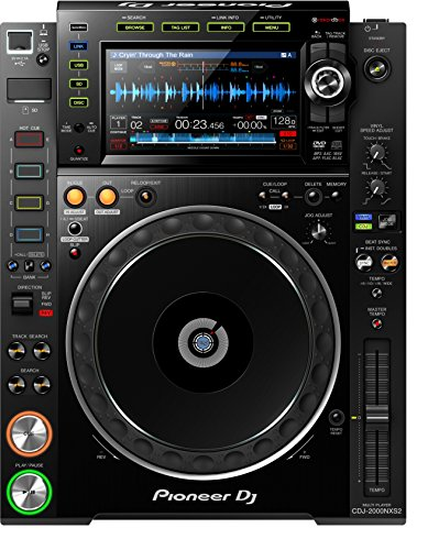 Pioneer DJ CDJ-2000NXS2 Professional Multi Player by Pioneer DJ