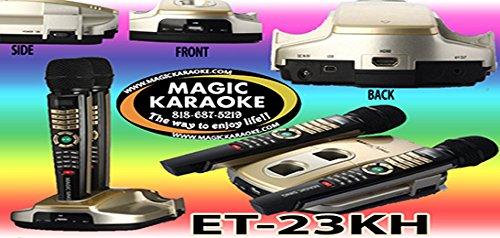 Magic Mic Karaoke (NEW 2017 MODEL ET23KH 5145 MIX TAGALOG ENGLISH SONGS MAGIC SING KARAOKE MIC)