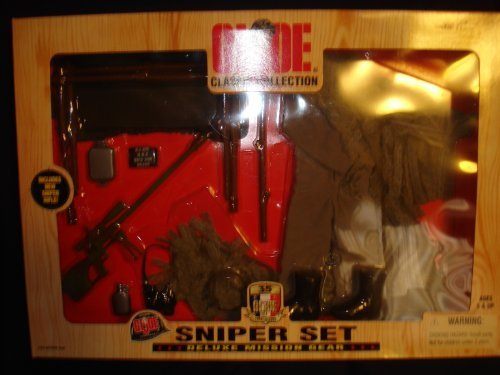 Gear Joe Gi Mission (GI Joe Classic Collection Sniper Set Deluxe Mission Gear)