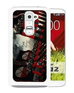 Beautiful And Unique Designed Case For LG G2 With Pink Floyd White Phone Case