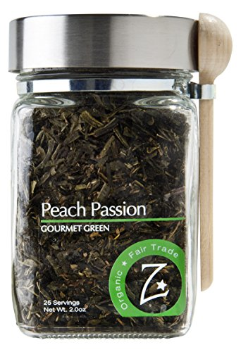 Zhena's Gypsy Tea Green Tea, Peach Passion, 2.0 Ounce