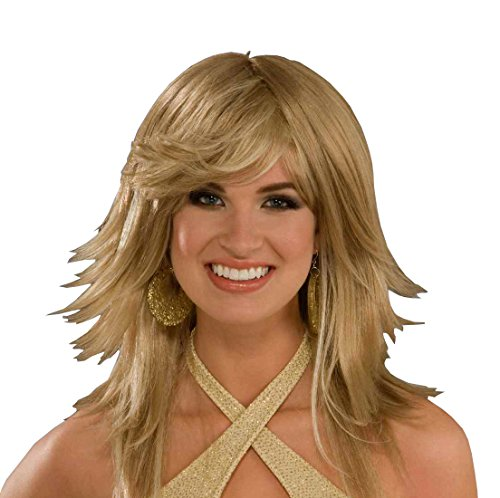 Forum Novelties Women's Disco Fantasy Wig, Blonde, One -