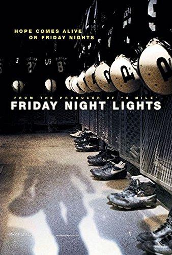 FRIDAY NIGHT LIGHTS (2004) Original Movie Poster 27x40 - Dbl-Sided - Billy Bob Thornton - Lucas Black