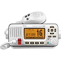 ICOM IC-M324G 22 Marine VHF Radio, with GPS, in White