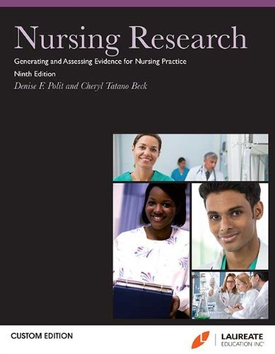 By D. F & Beck, C. T. Polit Nursing Research: Generating and Assessing Evidence for Nursing Practice 9th Ed, Softcover, (9th) [Paperback]