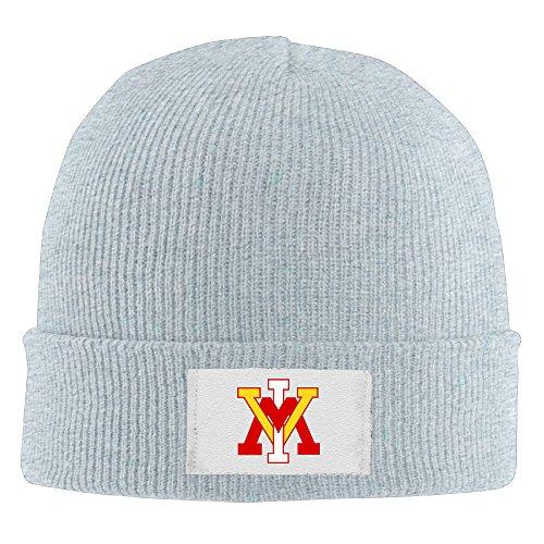 Lrown Knit Caps VMI Keydets Unisex Cool Ash Flexible Wool Winter Cap One Size ()