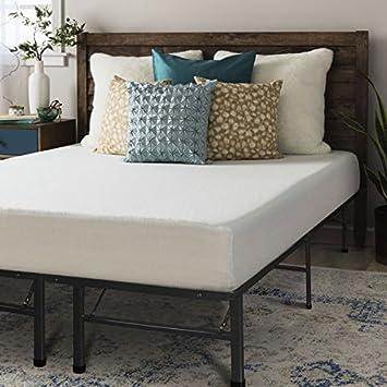 crown comfort 8inch kingsize memory foam mattress and platform bed frame set - King Size Tempurpedic Mattress