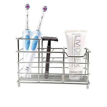 Amazon.com: Soporte para pasta de dientes de cepillos de ...