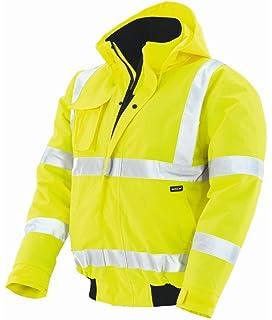 Gr/ö/ße 44 Gelb fluoreszierend // grau Cofra RESCUE gef/ütterte Jacke und Arbeitskleidung V017-0-00
