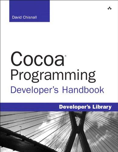 Download Cocoa Programming Developer's Handbook (Developer's Library) Pdf