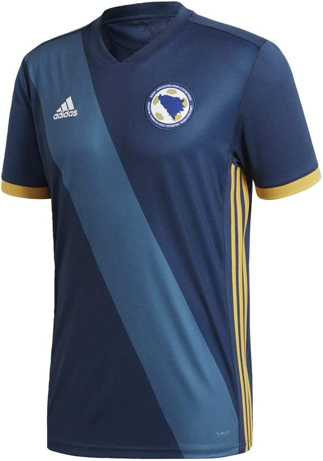 Official Bosnia Herzegovina Football Home Shirt Jersey Tee Top 2018 Mens adidas