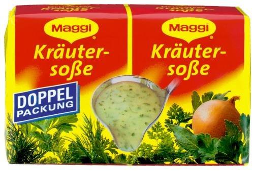 Maggi delikatess doble Pack hierbas salsas, 18 pack (18 x 500 ml de cartón