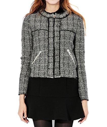 wiberlux-isabel-marant-womens-marled-zip-up-tweed-jacket-36-black