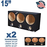 (2) 15 triple ported boxesSPECIAL OFFER
