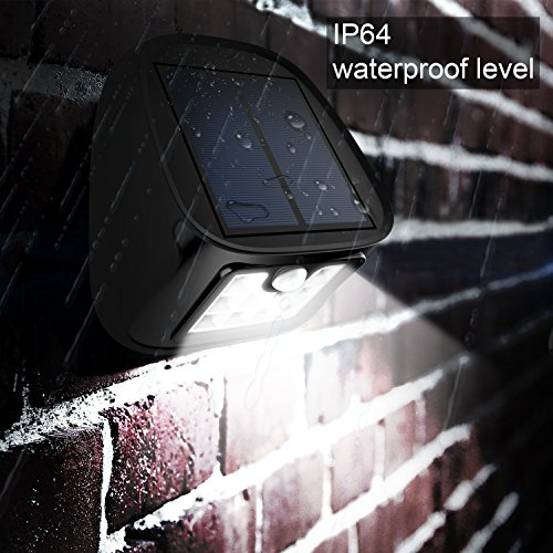 Outdoor Security Lights B Q: Solar Motion Sensor Lights 10 LED Outdoor Waterproof Wall