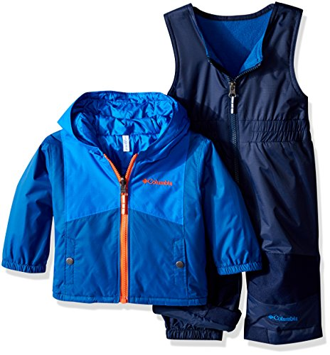 Columbia Baby Double Flake Set, Super Blue, 12-18 Months by Columbia