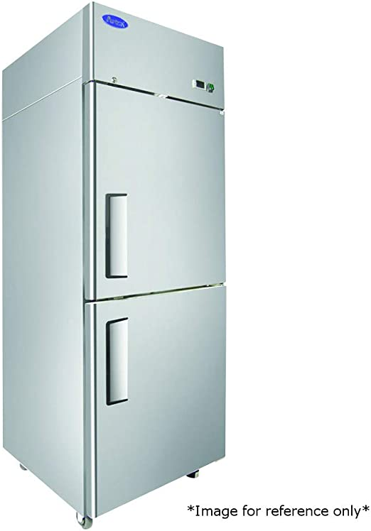 Energy Star Rated Atosa USA MGF8401 Stainless Steel Undercounter 27-Inch One Door Refrigerator
