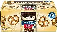 Snyder's of Hanover Pretzels, Mini Pretzels 100 Calorie Packs (Pack of