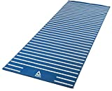 Reebok AP0829 Double Sided Yoga Mat, 4mm (Blue)