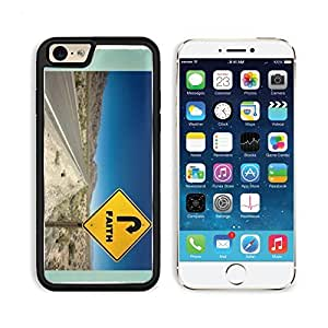 Faith Sign Desert Road Christ Apple iPhone 6 TPU Snap Cover Premium Aluminium Design Back Plate Case Customized Made to Order Support Ready Liil iPhone_6 Professional Case Touch Accessories Graphic Covers Designed Model Sleeve HD Template Wallpaper Photo