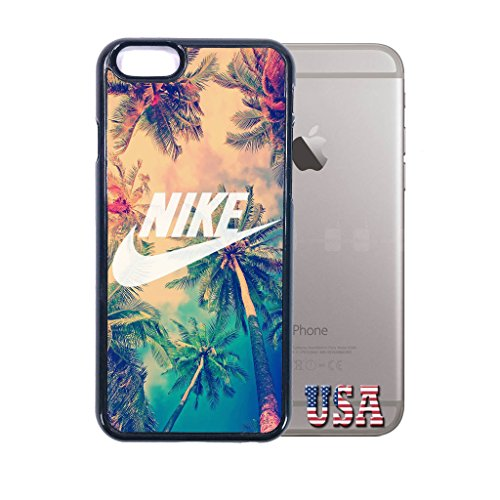 nike iphone 6 plus case Customized soft rubber phone case, cali palm