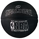 The NBA Street Phantom Basketball Soft Grip Technology comes with ultra durable soft grip cover and wide channel design, this ball will provide great grip and improved recognition.