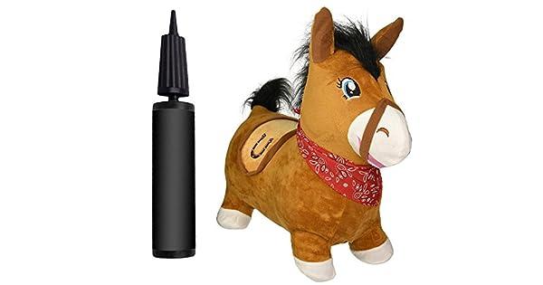 Amazon.com: Bouncy caballo & Real Feel Hopping caballo ...