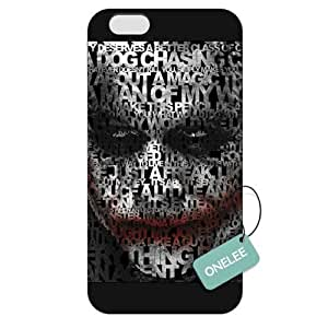 Onelee(TM) - Customized Batman Joker iPhone 6 Plus 5.5 Hard Plastic case cover - Black 04