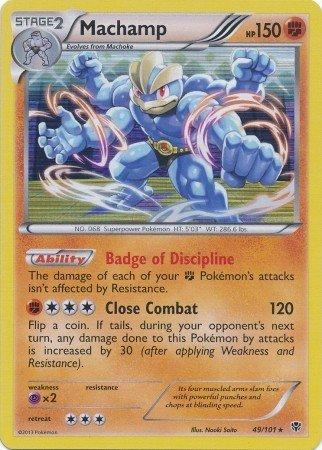 Pokemon - Machamp (49) - Plasma Blast - Holo