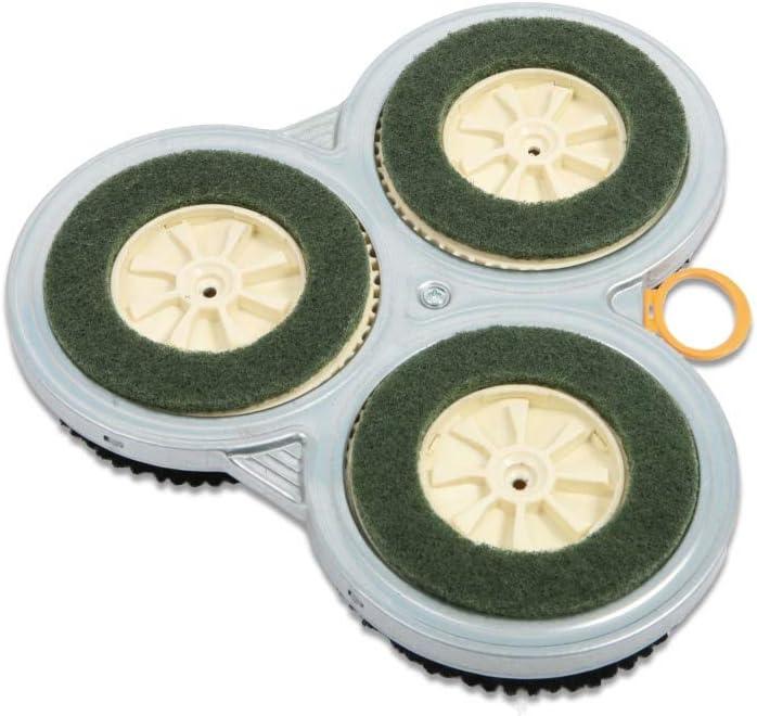 adecuados para Vorwerk Pulilux PL 515 set de limpieza Discos de repuesto