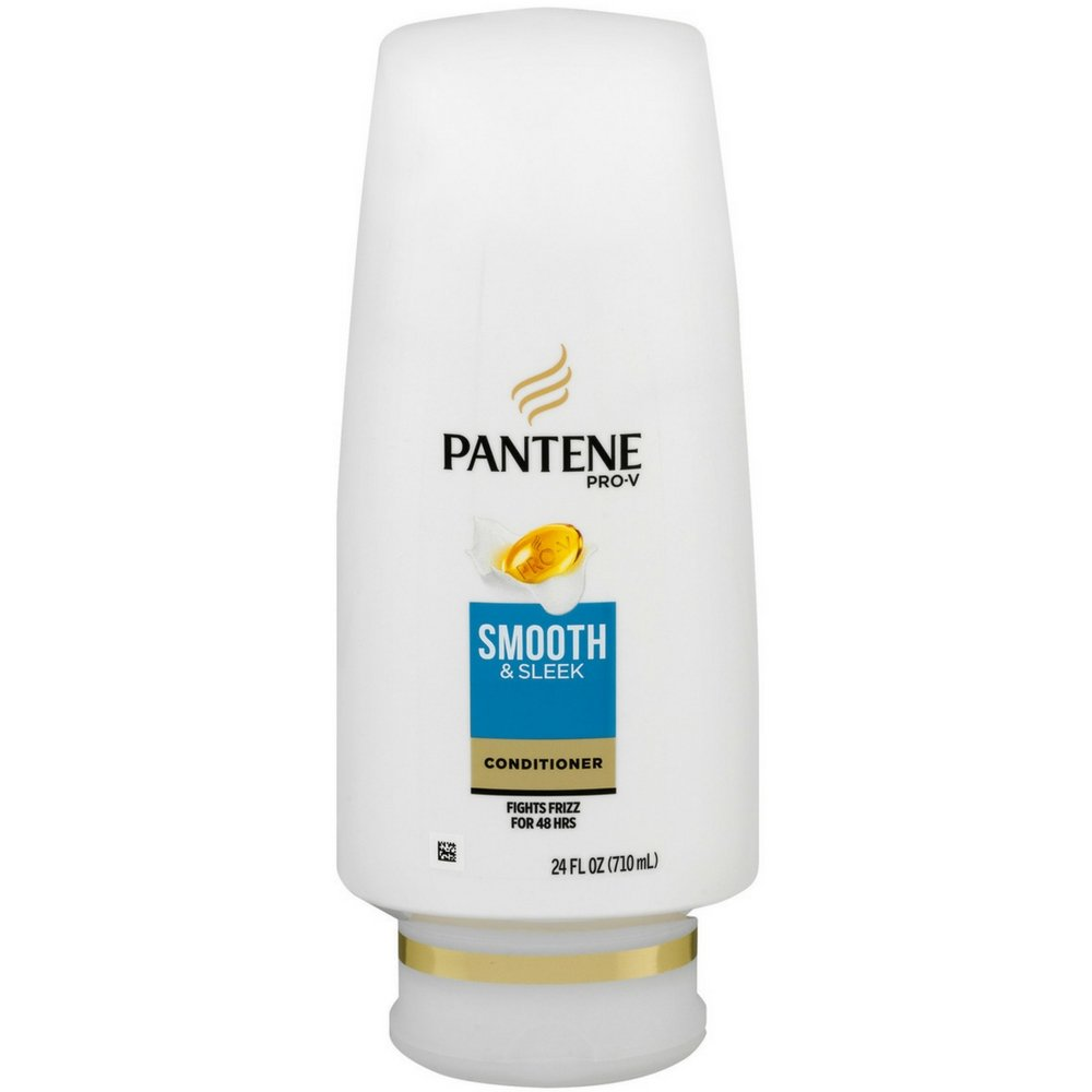 Pantene Pro-V Smooth & Sleek Conditioner, 24 Fl Oz, Pack of 1