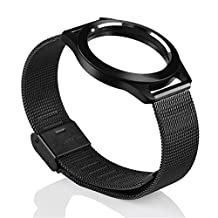 Watchband Replacement, LoveAMZ 16mm Stainless Steel Wristband Watch Band Wrist Strap for Misfit Shine 2