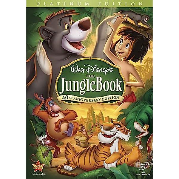 Movie Poster Art print Disney Villains Inspired the Jungle Book Kaa