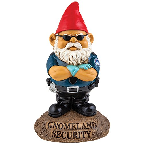 Amazoncom BigMouth Inc Gnomeland Security Garden Gnome Patio