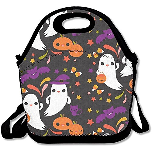 Starorland Kawaii Halloween Lunch Bag Fashion Elegant For Girl