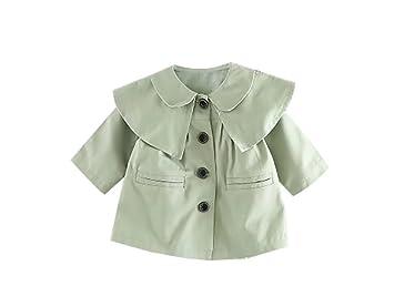 bd164cf543b85 Mycu ベビー服 コート子供服 男の子女の子 赤ちゃん服 春 ジャンパー アウター 無地 長袖 上着