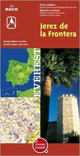 Jerez de la Frontera, Cádiz. Plano callejero y mapa de carreteras Planos callejeros / serie roja: Amazon.es: Cartografía Everest: Libros